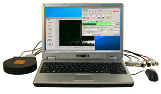 Digisonic DS10 running on a laptop with a USB soundcard